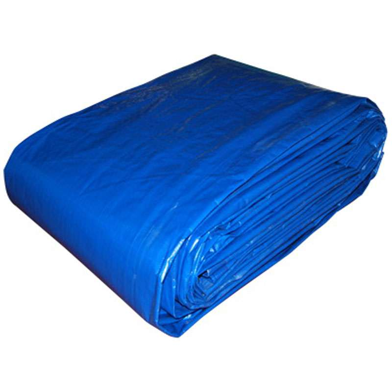 Ebatlı Branda Kumaşı Mavi